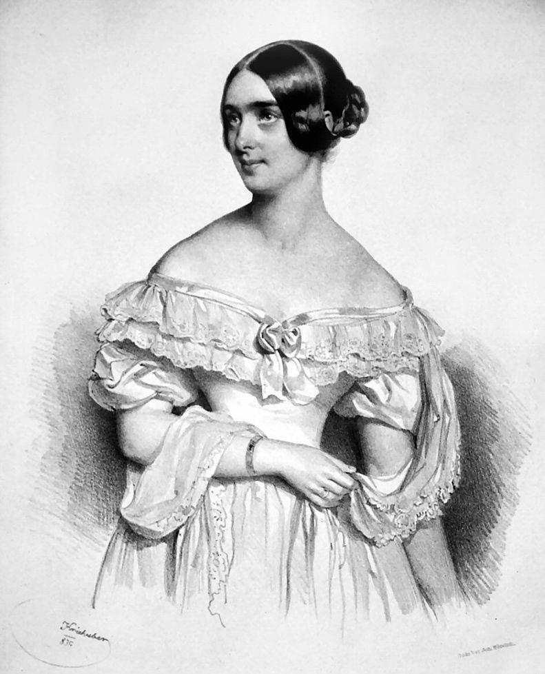 マリー・プレイエル夫人(1839年)